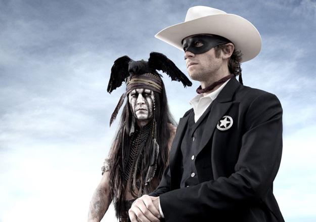 El primer vistazo a Johnny Depp como Tonto y a Armie Hammer como el Llanero Solitario