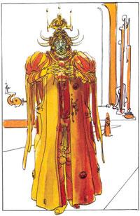 Emperador de la Galaxia Padishah Shaddam IV