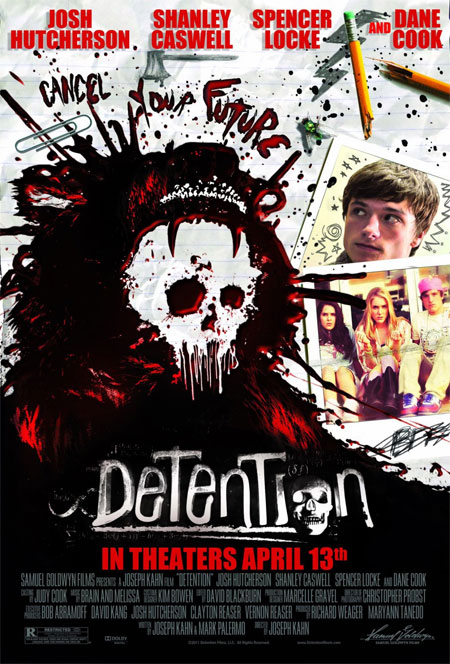 El cartel final del film teenager de terror Detention de Joseph Khan