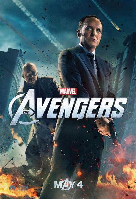 Porque se lo merece... el cartel del Agente Coulson para Los Vengadores