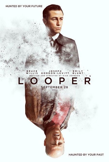 El primer cartel de Looper de Rian Johnson