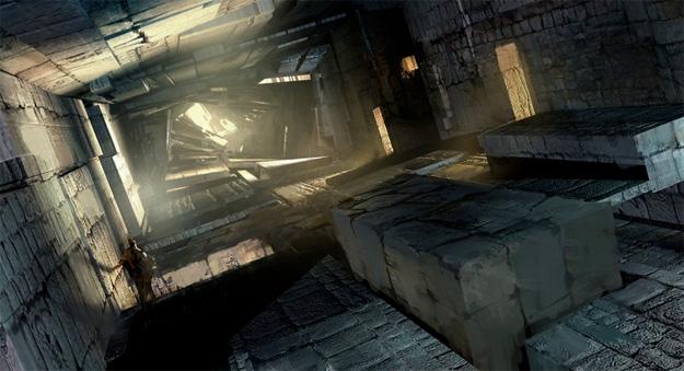 El interior del Tártaro, los pasillos cambiantes