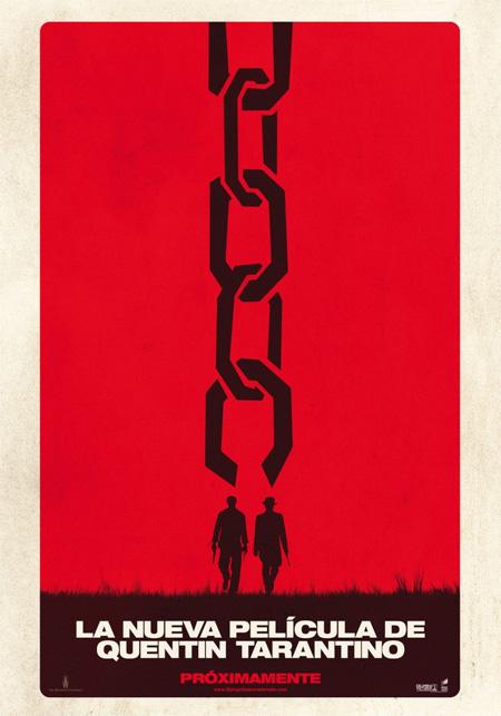 Primer teaser póster de Django desencadenado!