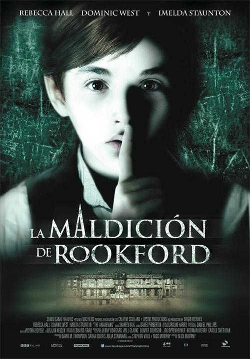 Póster español de La maldición de Rookford