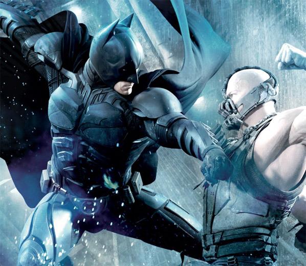 Promo de El caballero oscuro: la leyenda renace con Batman vs. Bane