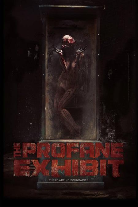 Chungo cartel de The Profane Exhibit