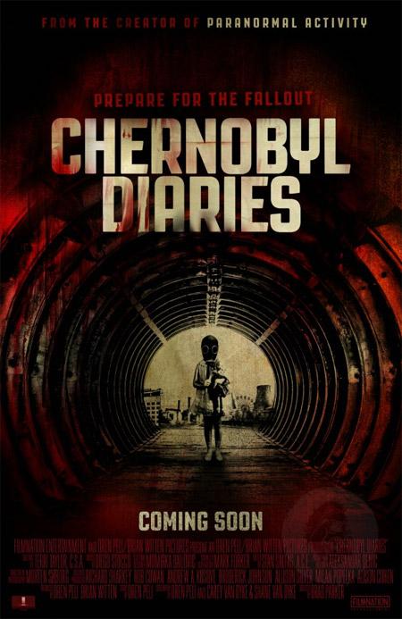 Un nuevo cartel internacional de Chernobyl Diaries