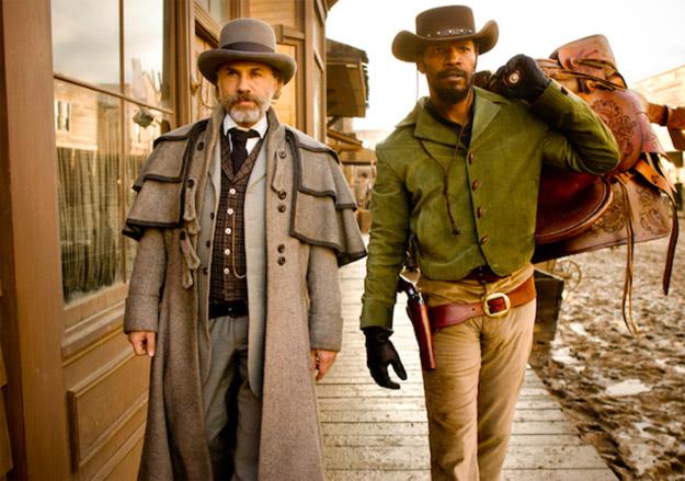 La pareja de cazarrecompensas Dr. King Schultz y Django