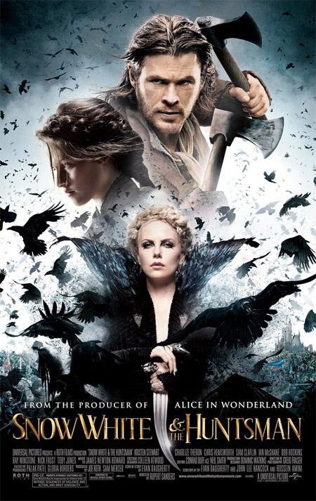 Nuevo cartel de Blancanieves y la leyenda del cazador