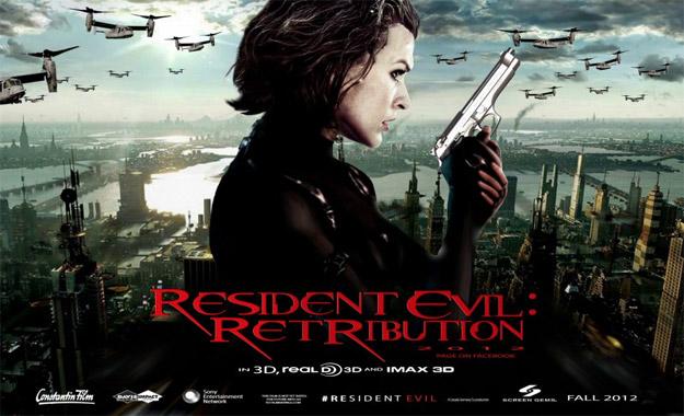 Otro cartelillo de Resident Evil: venganza
