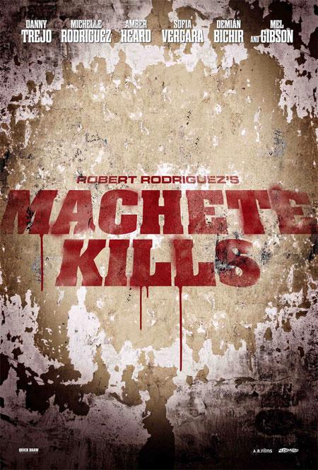 Nuevo cartel de Machete Kills