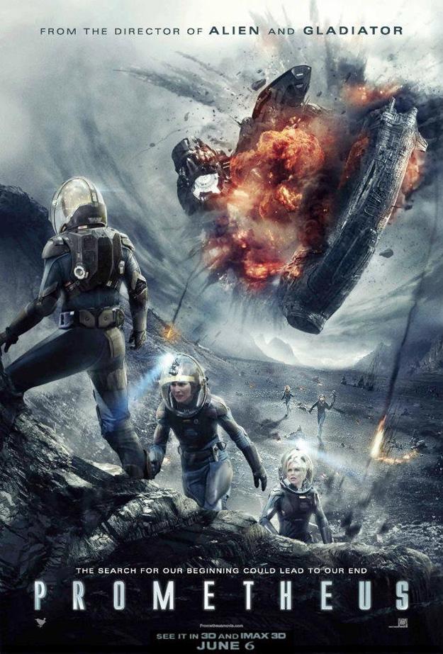 El nuevo cartel de Prometheus puede ser un SPOILER... o no