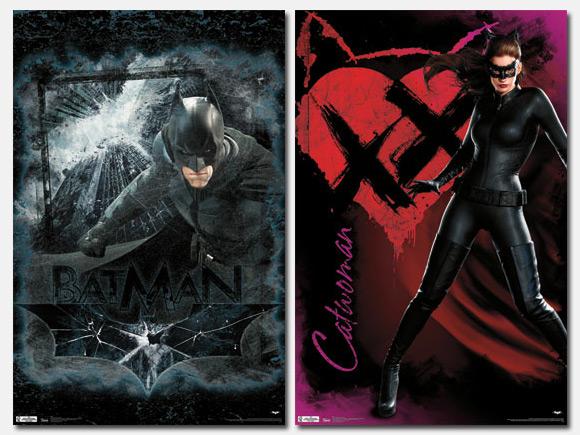 Un par de nuevos carteles promocionales de El caballero oscuro: la leyenda renace
