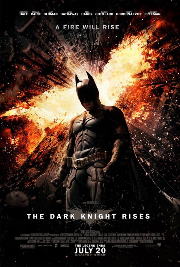 Nunca comenzar la mañana fue más placentero, el nuevo cartel de El caballero oscuro: la leyenda renace