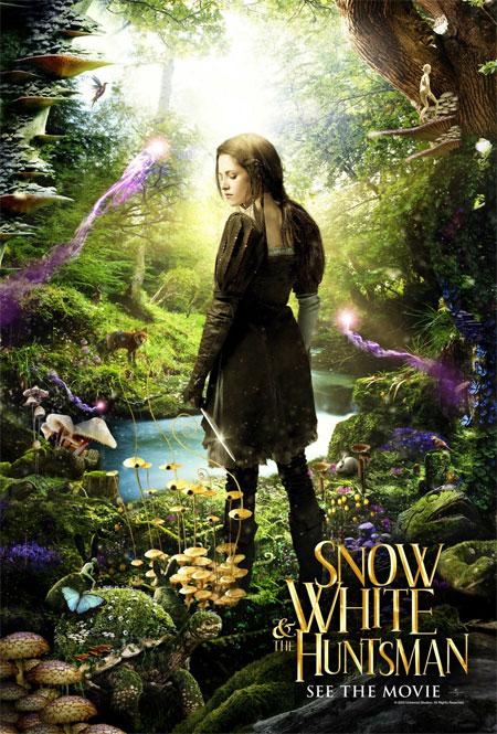 Colorido póster de Blancanieves y la leyenda del cazador... se estrena la semana que viene