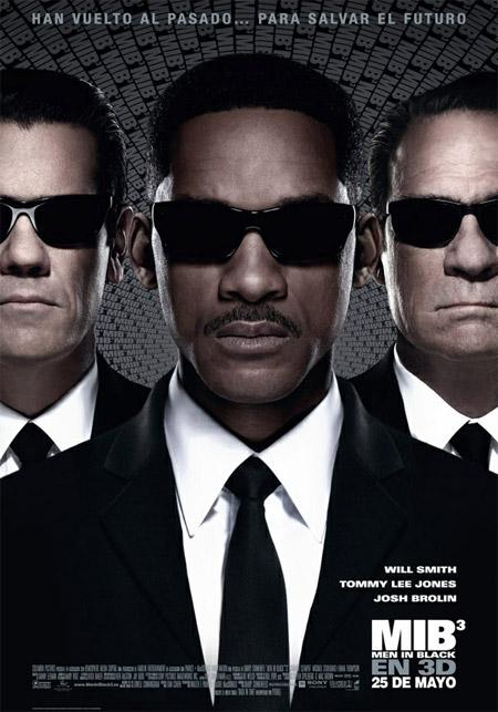 Uno de los carteles de Hombre de Negro 3