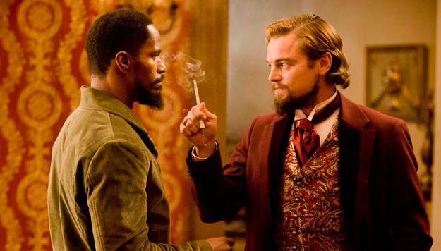 Nueva imagen de Django desencadenado... Django se cruza en el camino de Calvin Candie (Leonardo DiCaprio)