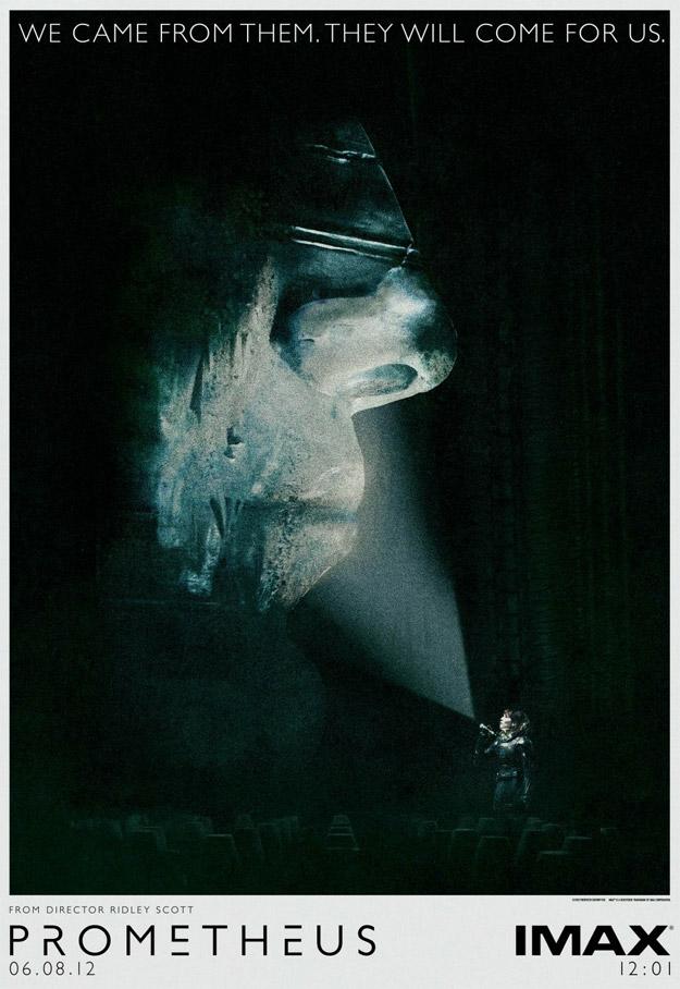 Póster IMAX de Prometheus