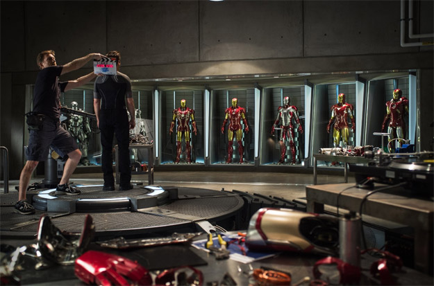 Primera imagen oficial del rodaje de Iron Man 3