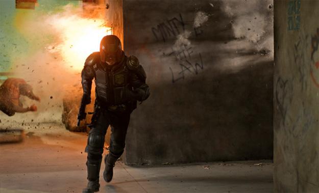 Una nueva imagen de Dredd de Pete Travis