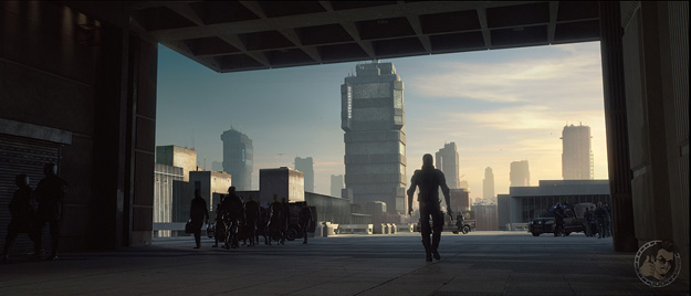 Segunda imagen molona de Dredd
