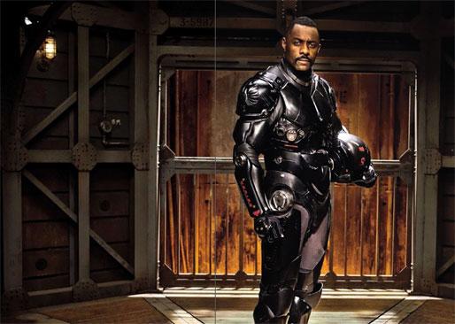 Primera imagen oficial de Pacific Rim de Guillermo del Toro con Idris Elba
