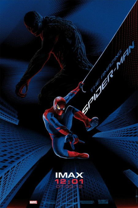 Nuevo cartel IMAX para The Amazing Spider-Man