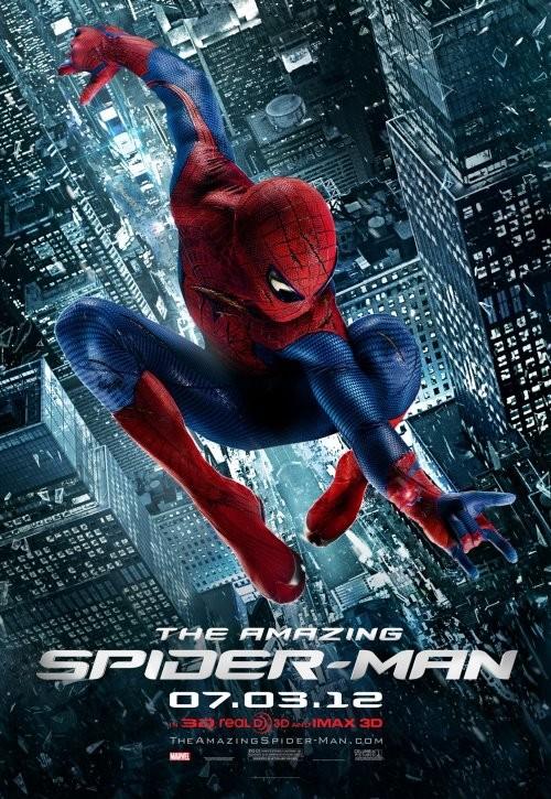 Uno de los muchos carteles de The Amazing Spider-Man