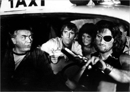 Cabbie, Cerebro, Maggie, el presidente y Plissken el serpiente
