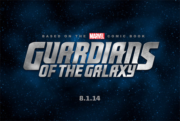 El logo oficial de Guardians of the Galaxy, el 1 de agosto del 2014 en cines