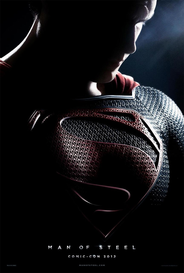 El póster para la Comic-Con de Man of Steel