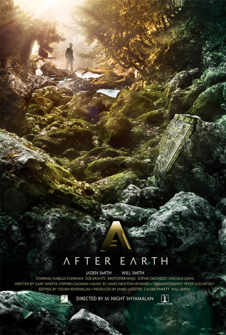 Primer cartel de After Earth de M. Night Shyamalan