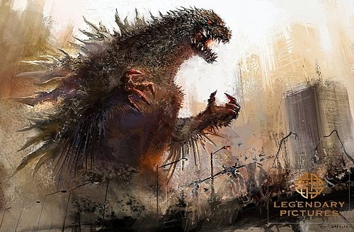 Supuesto concept art de Godzilla