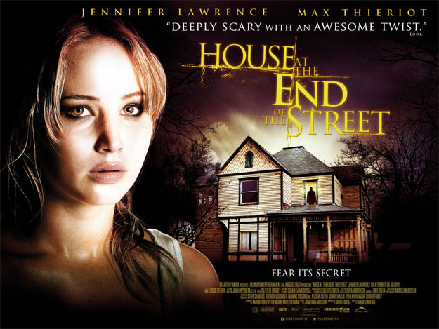 Nuevo quad póster de House at the End of the Street