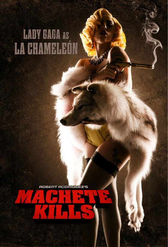Lady Gaga como La Chameleón en Machete Kills