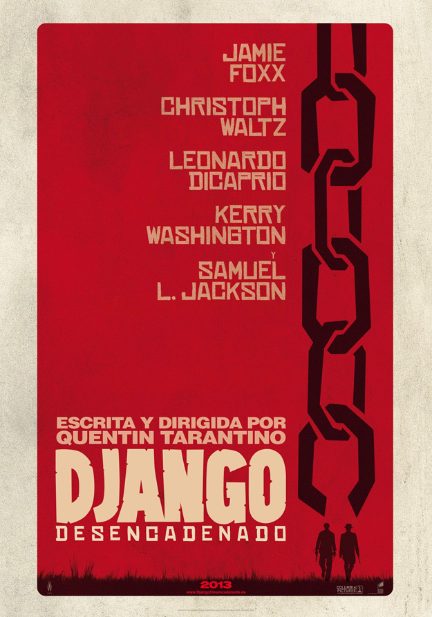 Nuevo cartel de Django desencadenado