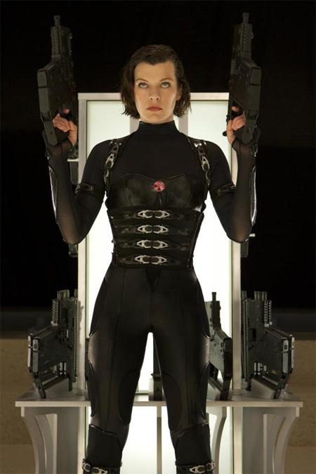 Nueva imagen de Milla Jovovich como Alice en Resident Evil: venganza