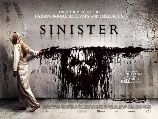 UK quad póster para Sinister de Scott Derrickson