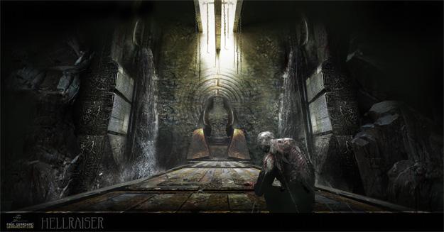 Otra propuesta sala donde Hellraiser hace que lo pases fatal... de regalo un posible cenobita