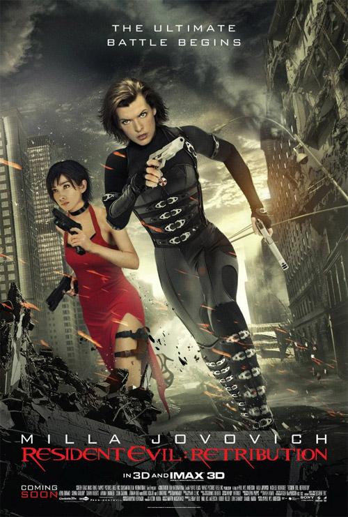 Mucha más madera Resident Evil: venganza