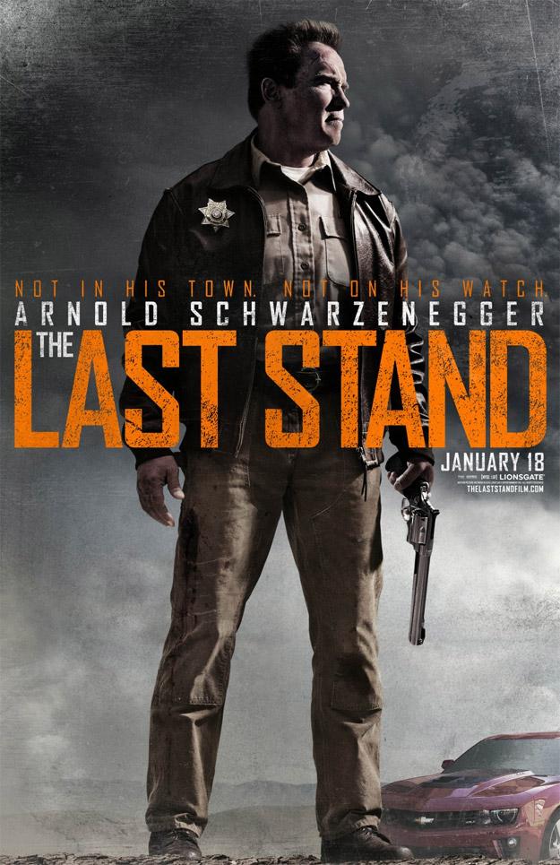 Arnold Schwarzenegger y su Mangum protagonistas del nuevo cartel de The Last Stand