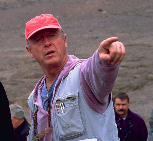 Tony Scott en el rodaje de Imparable