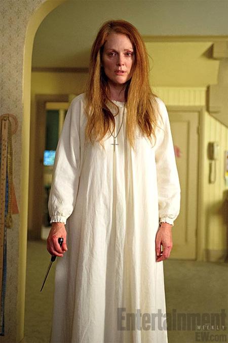 La nueva madre de la nueva Carrie... horror