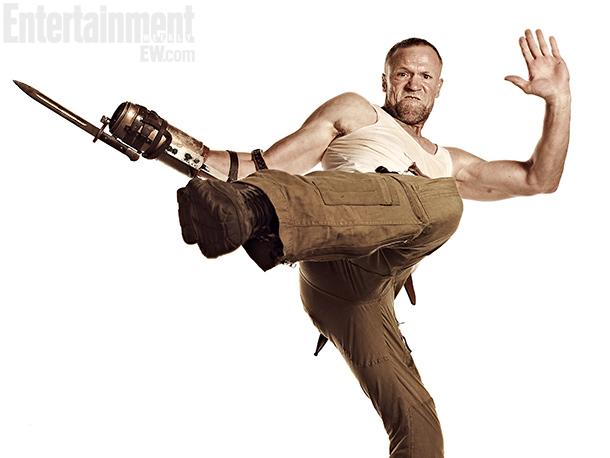 Se ha hecho esperar, pero aquí está de nuevo Merle... el hermano de Daryl