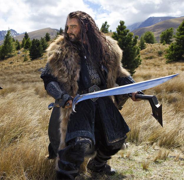 Nueva imagen de Thorin Escudo de Roble en El Hobbit: Un Viaje Inesperado