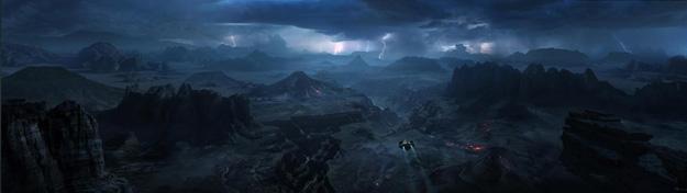 La llegada al planeta LV-223