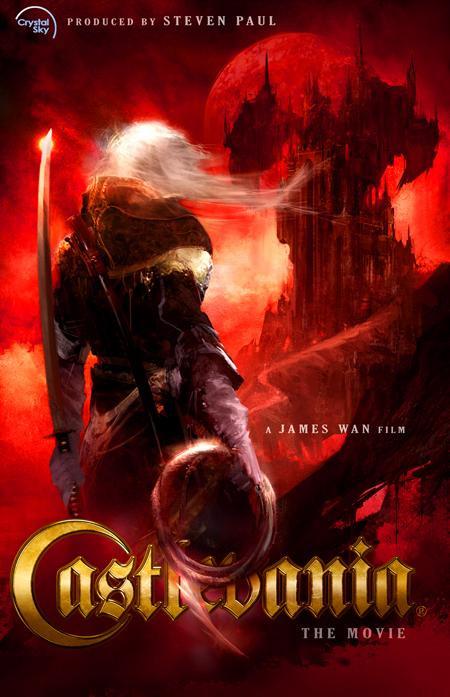 El cartel de Castlevania tal cual se descubrió en el 2009
