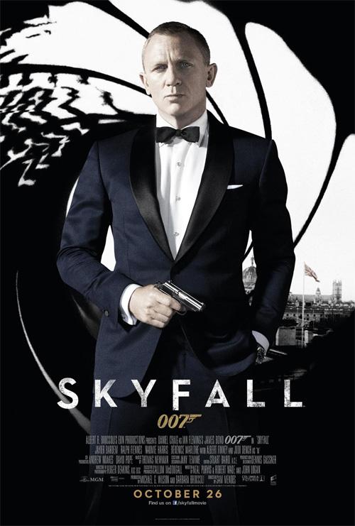 El nuevo cartel de Skyfall