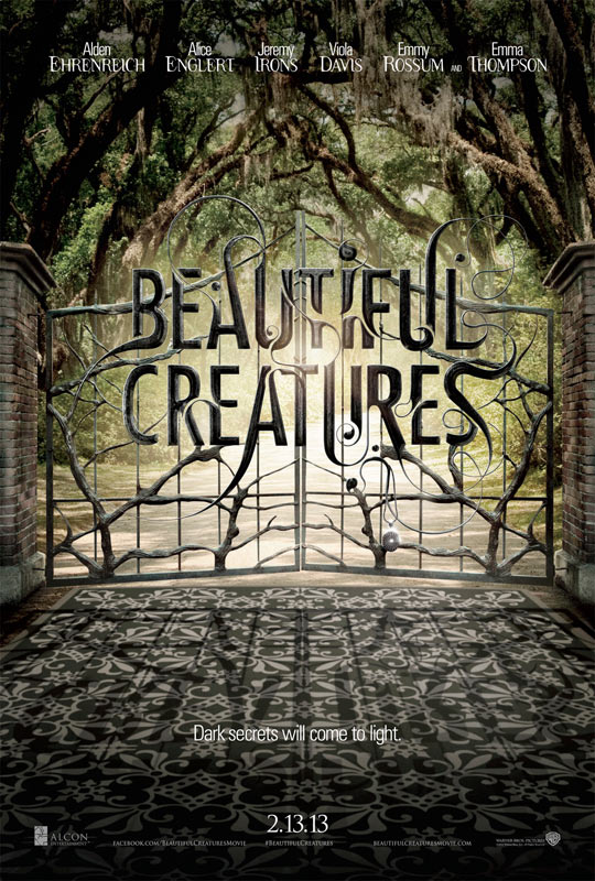 Poco elaborado el cartel este de Beautiful Creatures