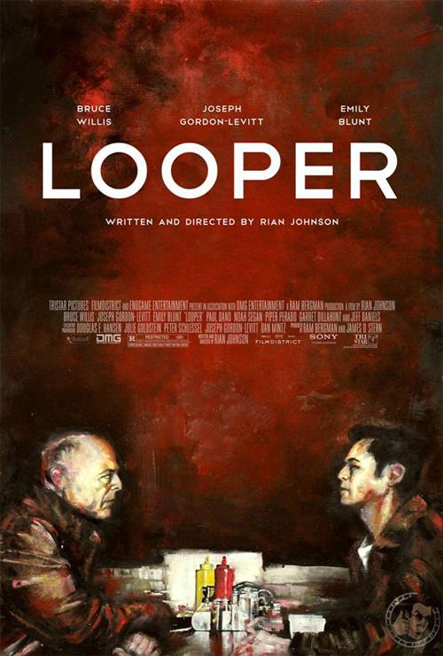 Un nuevo francamente interesante cartel de Looper